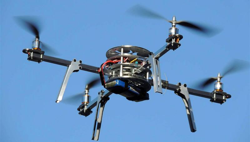Diseña UANL helicóptero no tripulado de cuatro hélices - UANL-Helicoptero-4-helices-Drones