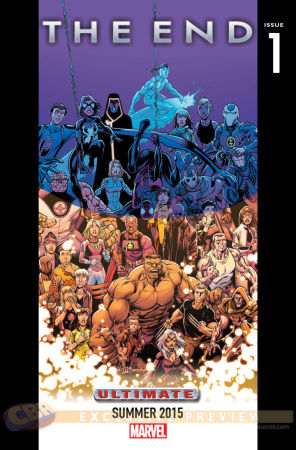 Civil War y Age of Ultron: Los misteriosos teasers de Marvel - Ultimate-Universe-The-End-2015-teaser-069af-720x1092-296x450