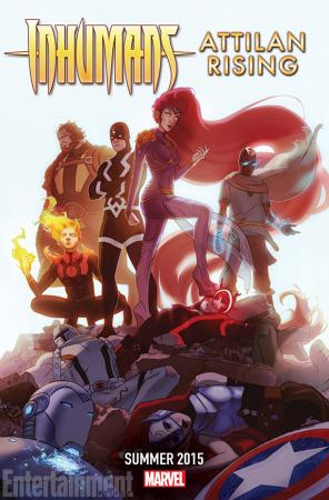 Civil War y Age of Ultron: Los misteriosos teasers de Marvel - inhumans-attilan-rising-full-03ff1-296x450