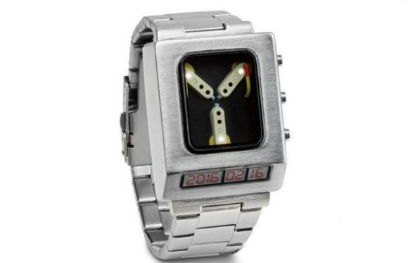 Novedoso reloj condensador de flujos de volver al futuro - reloj-volver-al-futuro