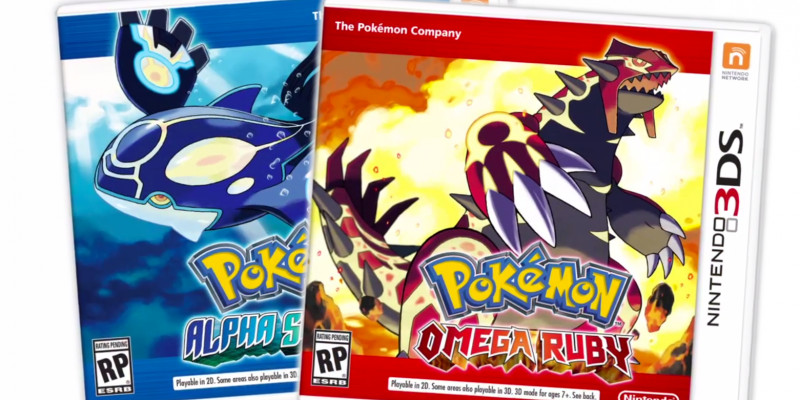 Pokémon Rubí Omega y Zafiro Alpha vende 3 millones de copias - remake-pokemon