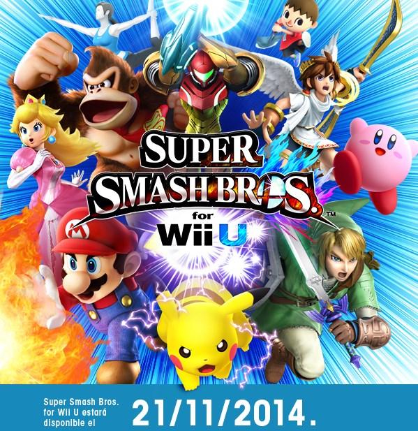 Conoce un poco más de Super Smash Bros Wii U [Video] - super-smash-bros-wii-u-lat