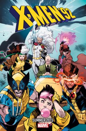 Civil War y Age of Ultron: Los misteriosos teasers de Marvel - x-men-92-summer-2015-296x450