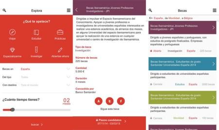 Lanzan la App Becas Santander para estudiantes