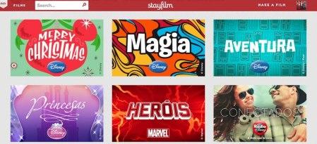 Crea videos espectaculares con tus fotos en Stayfilm