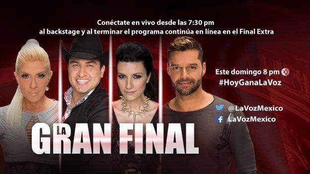 Vive la final de la Voz México 2014 en vivo en tus dispositivos ¡Con final extra! - Final-extra-La-Voz-Mexico-2014