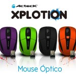 Mouse inalámbricos Xplotion de Acteck ¡Coloridos y accesibles! [Reseña] - Mouse-inalambrico-Xplotion-Acteck