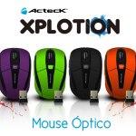 Mouse inalámbricos Xplotion de Acteck ¡Coloridos y accesibles! [Reseña] - Mouse-inalambrico-Xplotion-Acteck