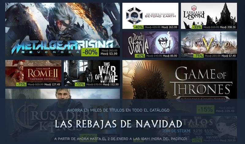 Las ofertas de navidad 2014 en Steam han comenzado - Ofertas-de-Steam-en-Navidad