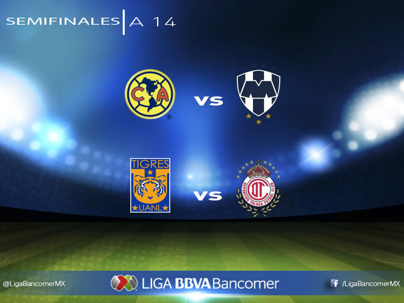 Simulan las semifinales de ida del Apertura 2014 en FIFA 15 - Simulacion-de-las-semifinales-Liguilla-Apertura-2014