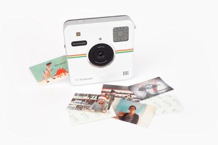 Socialmatic, la nueva cámara de fotos instantáneas de Polaroid llega en Enero y ya puedes preordenarla