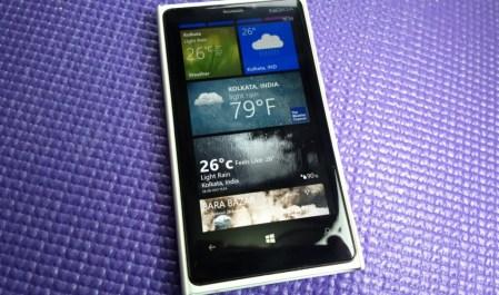 Apps del clima para Lumia con Windows