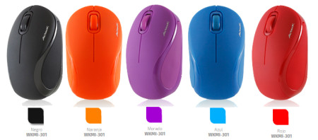 Mouse inalámbricos Xplotion de Acteck ¡Coloridos y accesibles! [Reseña] - colores-de-minimouses-450x198