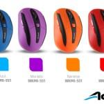 Mouse inalámbricos Xplotion de Acteck ¡Coloridos y accesibles! [Reseña] - colores-de-mouses