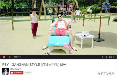 """El contador de reproducciones de YouTube no """"soportó"""" al Gangnam Style"""