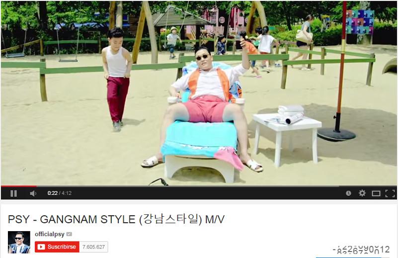 """El contador de reproducciones de YouTube no """"soportó"""" al Gangnam Style - gangnam-style"""
