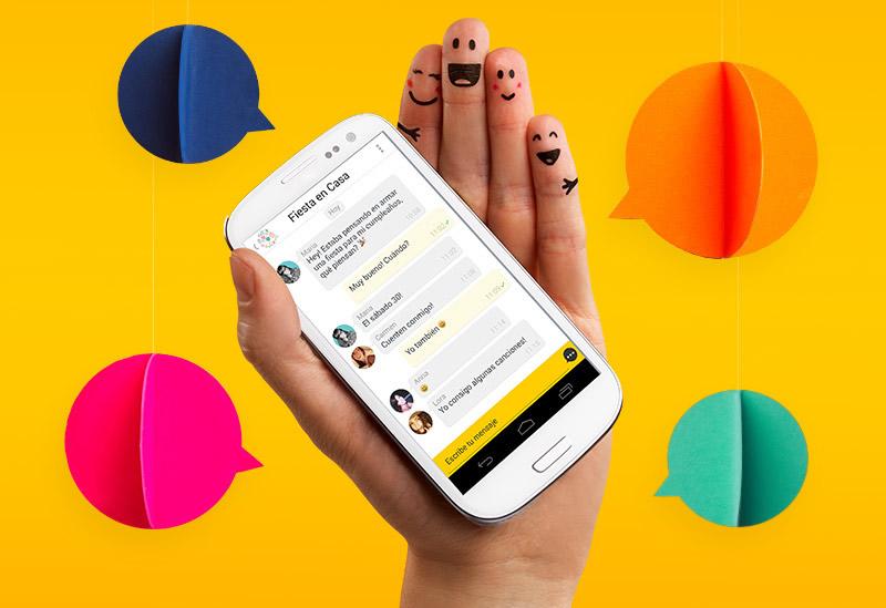 """Msngr, la app para chatear sin consumir saldo Telcel lanza sus """"canales"""" - msngr-chat-gratis-telcel-canales"""