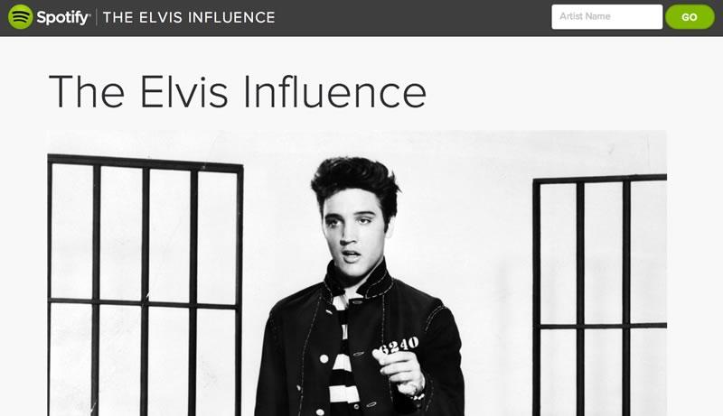 La influencia de Elvis en la música actual presentada por Spotify - Influencia-de-Elvis-Presley-en-la-Musica-Spotify
