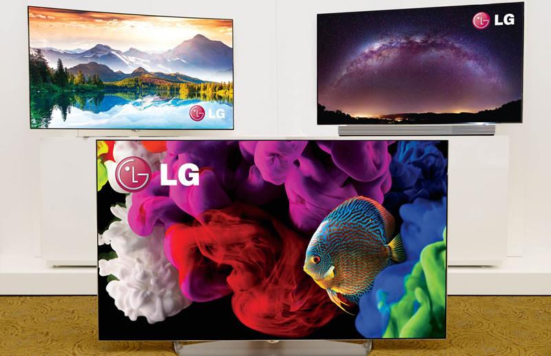 LG presenta sus televisores OLED 4K en CES 2015 - LG-4K-OLED-TVs-800x516