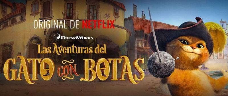Conoce los estrenos de Netflix en enero de 2015 - Las-aventuras-del-gato-con-botas-netflix