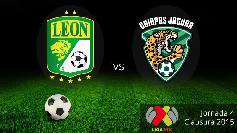 León vs Jaguares, Jornada 4 del Clausura 2015 - Leon-vs-Jaguares-en-vivo-Clausura-2015-800x450