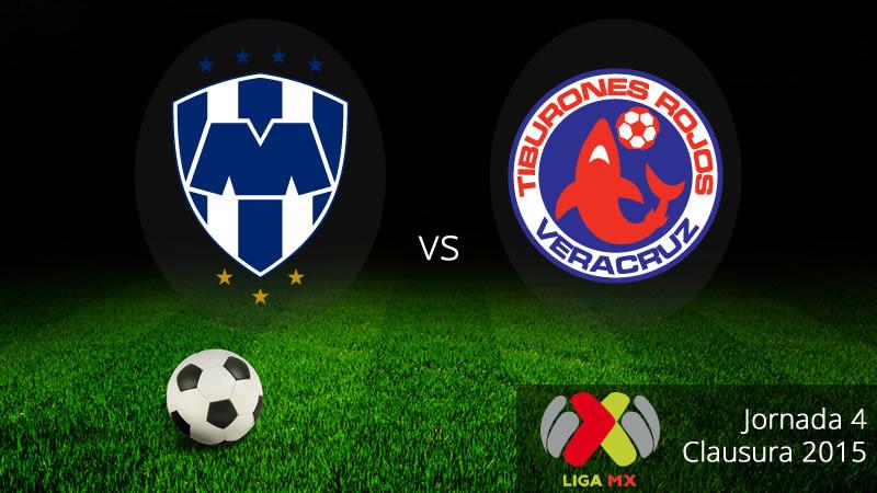 Monterrey vs Veracruz, Jornada 4 del Clausura 2015 - Monterrey-vs-Veracruz-en-vivo-Clausura-2015-800x450