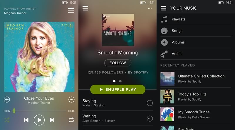 Spotify para Windows Phone renueva su interfaz - Spotify-para-Windows-Phone