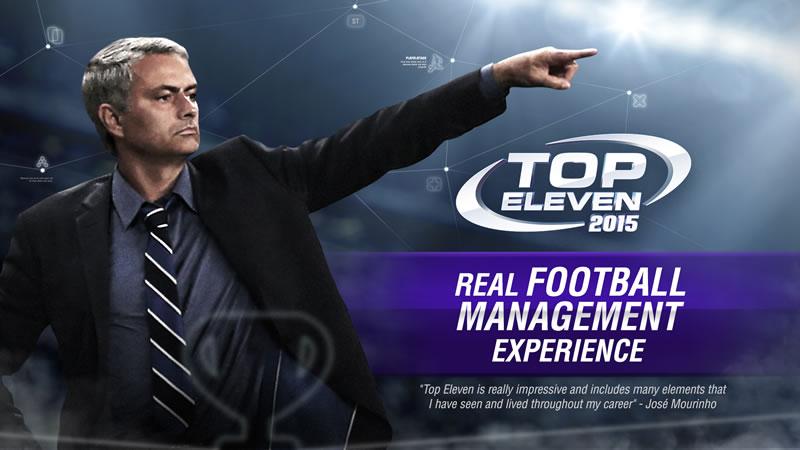 Top Eleven 2015: Mourinho protagoniza el comercial del juego - Top-Eleven-2015-Juego-Futbol