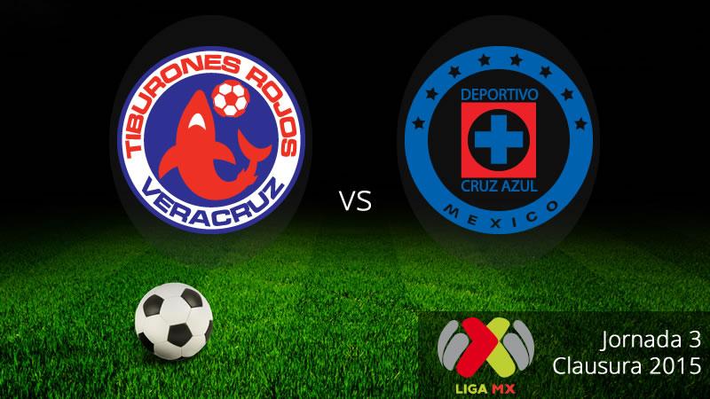 Veracruz vs Cruz Azul: Jornada 3 del Clausura 2015 - Veracruz-vs-Cruz-Azul-en-vivo-Clausura-2015