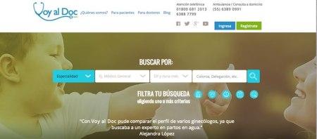 Lanzan servicio para encontrar doctores en México por internet