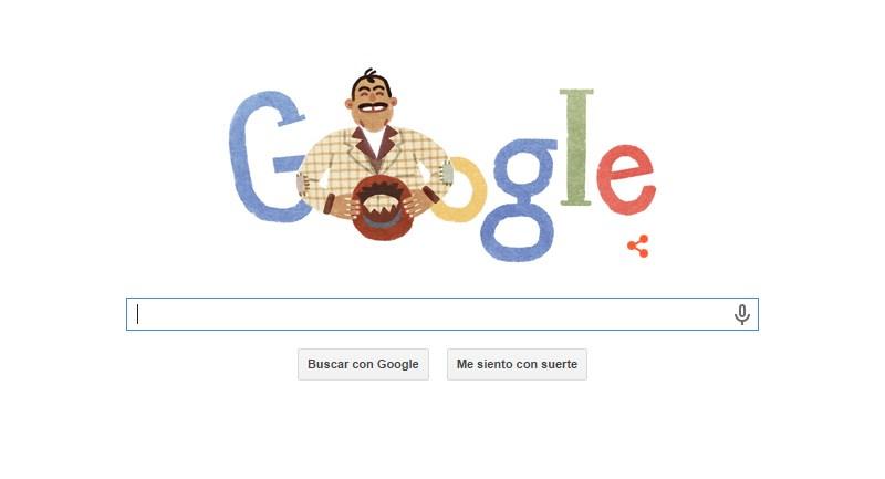 Capulina presente en el Doodle de Google por su cumpleaños - doodle-capulina