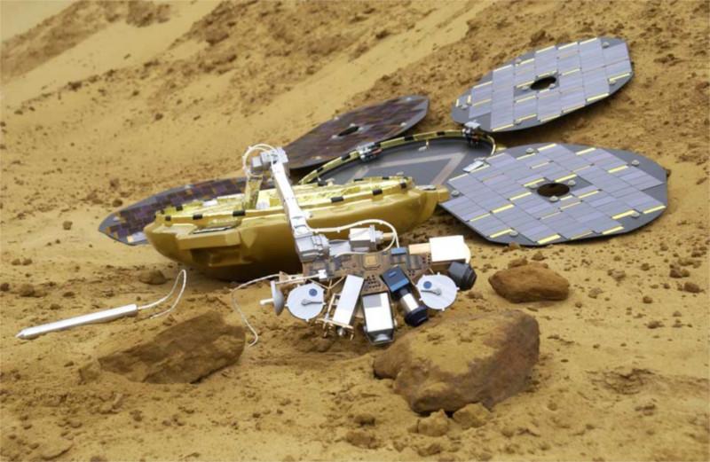 Encuentran sonda Beagle 2 en Marte después de 12 años de misterio - sonda-Beagle-2