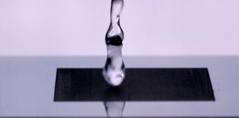 Desarrollan método para que los metales sean súper repelentes al agua - super-repelente-al-agua