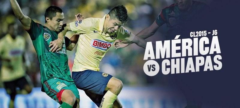 América vs Jaguares en la Jornada 6 del Clausura 2015 - America-vs-Jaguares-en-vivo-Clausura-2015