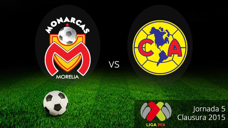 América vs Morelia, Jornada 5 del Clausura 2015 - America-vs-Morelia-en-vivo-Clausura-2015
