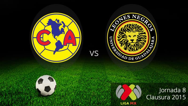 América vs UDG, Jornada 8 del Clausura 2015 - America-vs-UDG-en-vivo-Clausura-2015