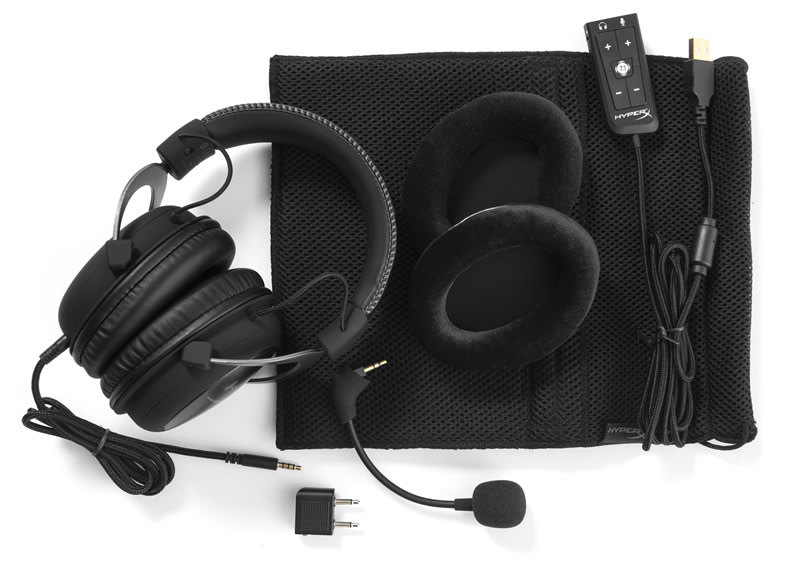 Audífonos HyperX Cloud II con Surround Sound Virtual 7.1 - Audifonos-HyperX-Cloud-II