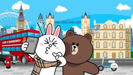LINE lanza un cortometraje animado junto con Burberry
