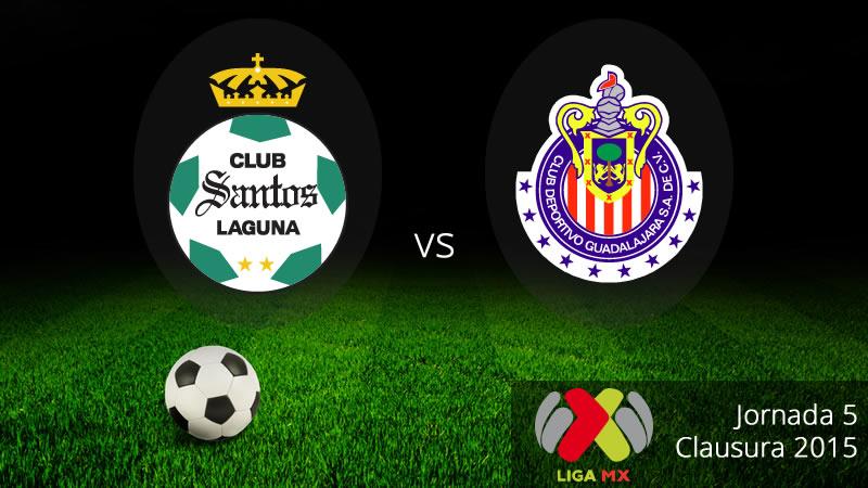Chivas vs Santos en la Jornada 5 del Clausura 2015 - Chivas-vs-Santos-en-vivo-Clausura-2015