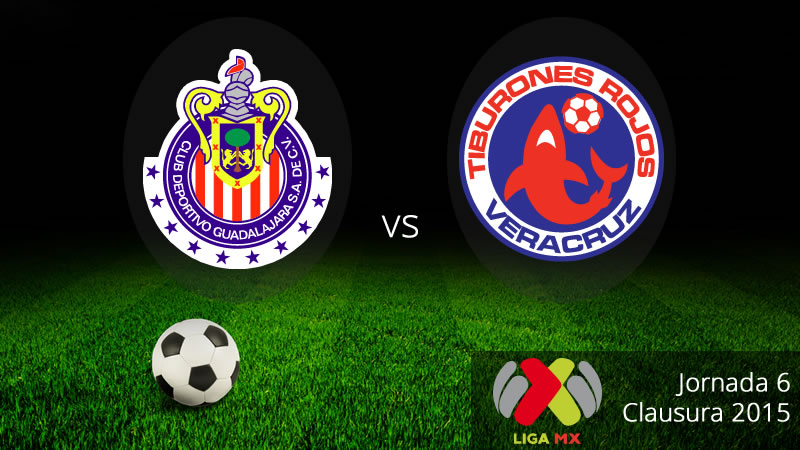 Chivas vs Veracruz, Jornada 6 del Clausura 2015 - Chivas-vs-Veracruz-en-vivo-Clausura-2015