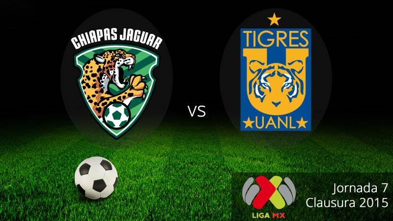 Jaguares vs Tigres en la Jornada 7 del Clausura 2015 - Jaguares-vs-Tigres-en-vivo-Clausura-2015