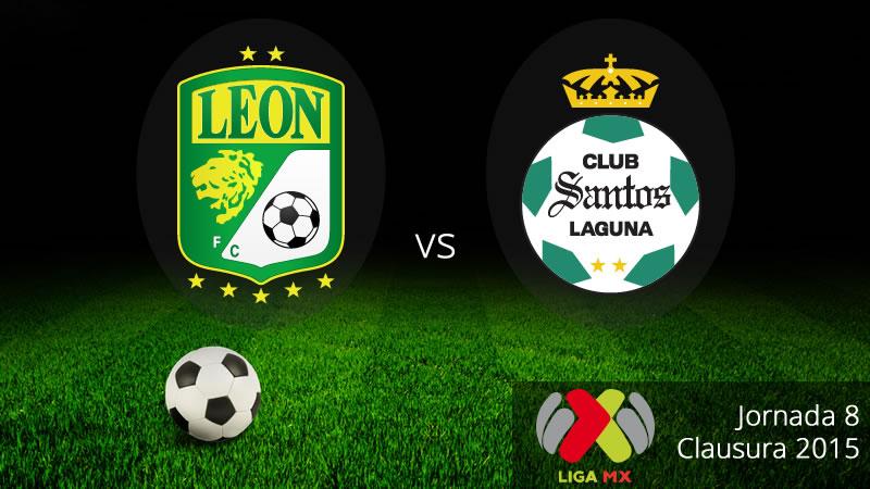 León vs Santos, Fecha 8 del Clausura 2015 - Leon-vs-Santos-en-vivo-Clausura-2015