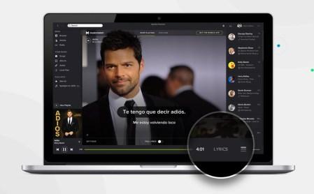 Letras de canciones ya se muestran en Spotify ¿Alguien dijo Karaoke?