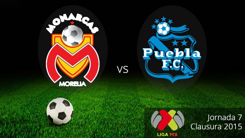 Morelia vs Puebla en la Jornada 7 del Clausura 2015 - Morelia-vs-Puebla-en-vivo-Clausura-2015