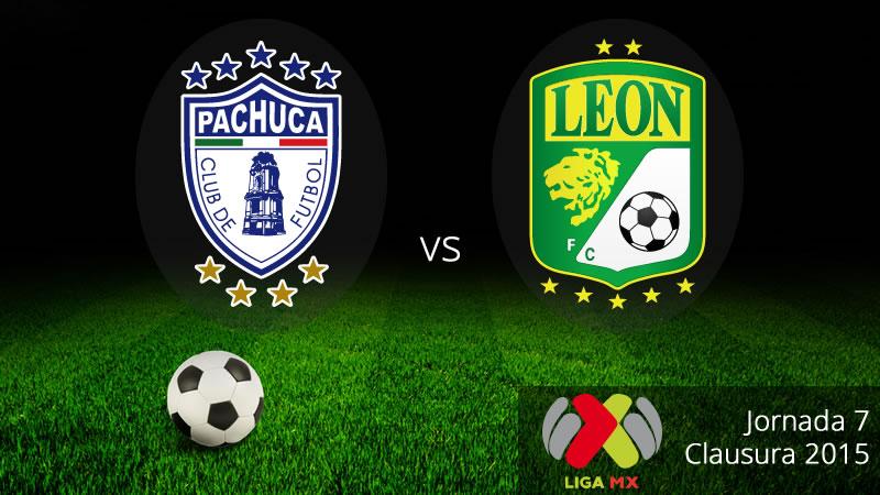 Pachuca vs León en el Clausura 2015 - Pachuca-vs-Leon-en-vivo-Clausura-2015