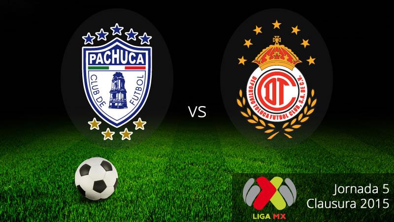 Pachuca vs Toluca se enfrentan en la Jornada 5 del Clausura 2015 - Pachuca-vs-Toluca-en-vivo-Clausura-2015