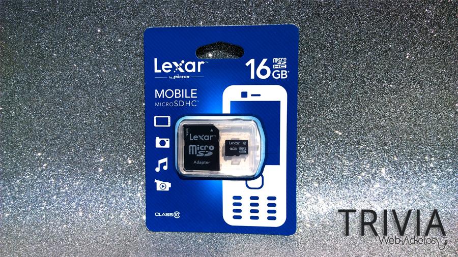 TRIVIA LEXAR WEBADICTOS TRIVIA: Participa y ¡Gana un Micro SDHC de Lexar!