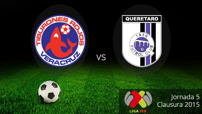 Veracruz vs Querétaro, Clausura 2015 (Jornada 5) - Veracruz-vs-Queretaro-en-vivo-Clausura-2015