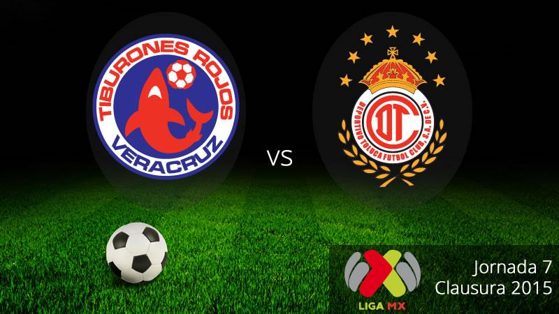 Veracruz vs Toluca, Clausura 2015 - Veracruz-vs-Toluca-en-vivo-Clausura-2015