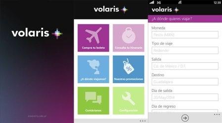 Volaris lanza su app para Windows Phone